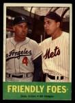 1963 Topps #68  Friendly Foes  -  Duke Snider / Gil Hodges Front Thumbnail
