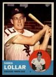 1963 Topps #118   Sherm Lollar Front Thumbnail