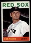 1964 Topps #170  Dick Radatz  Front Thumbnail
