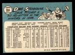 1965 Topps #304   Dave Stenhouse Back Thumbnail