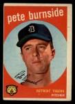 1959 Topps #354  Pete Burnside  Front Thumbnail