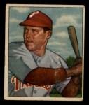 1950 Bowman #228   Bill Nicholson Front Thumbnail