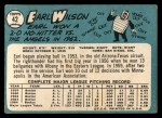 1965 Topps #42  Earl Wilson  Back Thumbnail