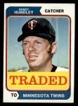 1974 Topps Traded #319 T  Randy Hundley Front Thumbnail