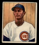 1950 Bowman #115   Roy Smalley Front Thumbnail