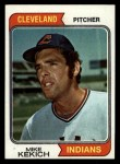 1974 Topps #199  Mike Kekich  Front Thumbnail