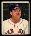 1950 Bowman #187   Lou Stringer Front Thumbnail