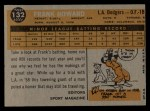 1960 Topps #132  Rookies  -  Frank Howard Back Thumbnail