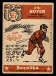 1959 Topps #557   -  Ken Boyer All-Star Back Thumbnail