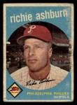 1959 Topps #300  Richie Ashburn  Front Thumbnail