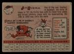 1958 Topps #11 ^WT^ Jim Rivera  Back Thumbnail