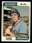 1974 Topps #51  Bob Heise  Front Thumbnail