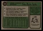 1974 Topps #58   Charlie Spikes Back Thumbnail