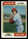 1974 Topps #283   Mike Schmidt Front Thumbnail