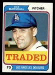 1974 Topps Traded #73 T  Mike Marshall Front Thumbnail