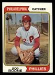 1974 Topps #131   Bob Boone Front Thumbnail