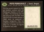 1969 Topps #181   Pete Perreault Back Thumbnail