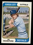 1974 Topps #407  Jim Wohlford  Front Thumbnail