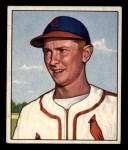 1950 Bowman #71  Red Schoendienst  Front Thumbnail