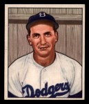 1950 Bowman #223  Jim Russell  Front Thumbnail