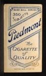 1909 T206 #192 BOS Peaches Graham  Back Thumbnail