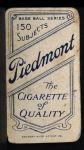 1909 T206 #51   Roger Bresnahan Back Thumbnail