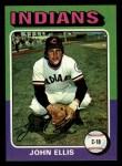 1975 Topps Mini #605  John Ellis  Front Thumbnail
