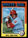 1975 Topps Mini #11   Bill Melton Front Thumbnail