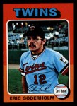 1975 Topps Mini #54   Eric Soderholm Front Thumbnail