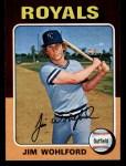 1975 Topps Mini #144  Jim Wohlford  Front Thumbnail