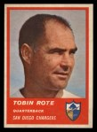 1963 Fleer #68   Tobin Rote Front Thumbnail