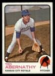 1973 Topps #22   Ted Abernathy Front Thumbnail