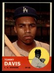 1963 Topps #310   Tommy Davis Front Thumbnail