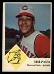 1963 Fleer #34   Vada Pinson Front Thumbnail