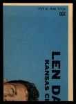 1968 Topps #200   Ernie Wright Back Thumbnail