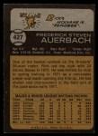 1973 Topps #427  Rick Auerbach  Back Thumbnail