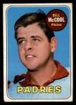 1969 Topps #129   Bill McCool Front Thumbnail