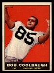 1961 Topps #189   Bob Coolbaugh Front Thumbnail