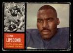 1962 Topps #133  Gene Lipscomb  Front Thumbnail