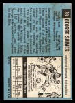 1964 Topps Beatles Black and White #36   George Harrison Back Thumbnail