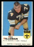 1969 Topps #218  Mike Tilleman  Front Thumbnail