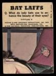 1966 Topps Batman Color #47 CLR Penguin / Joker / Bruce Wayne  Back Thumbnail