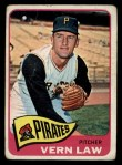 1965 Topps #515   Vern Law Front Thumbnail