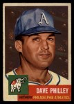 1953 Topps #64   Dave Philley Front Thumbnail