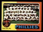 1975 Topps Mini #46  Phillies Team Checklist  -  Danny Ozark Front Thumbnail
