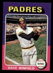1975 Topps Mini #61   Dave Winfield Front Thumbnail