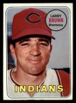 1969 Topps #503  Larry Brown  Front Thumbnail