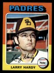 1975 Topps Mini #112   Larry Hardy Front Thumbnail