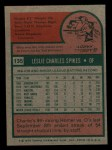 1975 Topps Mini #135   Charlie Spikes Back Thumbnail