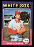 1975 Topps Mini #137   Terry Forster Front Thumbnail